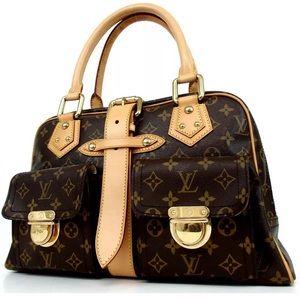 Authentic Louis Vuitton Manhattan GM bag